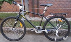 sell new black flat bar city bike/quick release