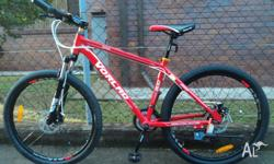 Sell new VORLAD alloy mountain bike/100% new condition