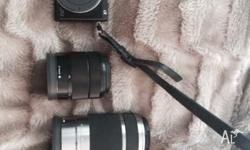 Selling my Sony NEX 7 with a 55-210mm lens, 50mm lens
