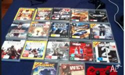 I am selling 13 ps3 games all in good condition and