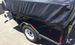 ONE DAY ONLY SEMI OFF ROAD CAMPER TRAILER WITH ALL THE