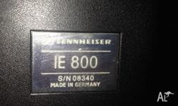 A used but in great condition pair of Sennheiser