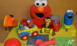 Approx 50cm Sesame street pretend play tool bench and