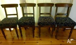 4 Chairs, good condition, possibly antique or antique