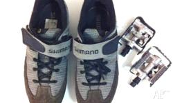 Touring shoes Set Set of Shimano shoes euro 43 about 9