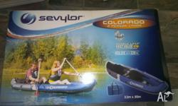 2 person kayak in box brand new,never been used. Has 2