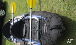 This is a VERY stable inflatable Kayak designed for