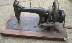 old sewing machine wertheim frankfort $40 great