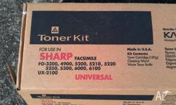 1 NEW Sharp Fax Toner Kit for FO-3300 FO-4900 FO-5200