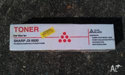 1 NEW Sharp JX-9500 Toner Cartridge for FO-4900 FO-5200