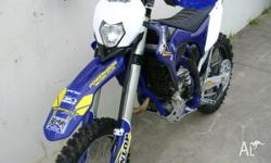 SHERCO 300R 2013 WHICH HAS THE LONG STROKE ENGINE WP