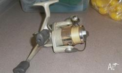 1000 sized shimano reel spooled with 6lb braid