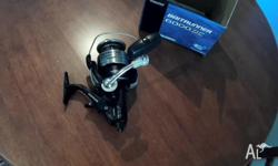 A brand new reel that was an unwanted gift,never used
