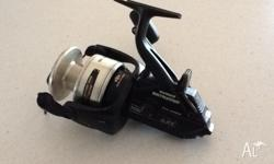Does have a couple of little scuff marks. Great reel