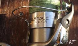 1xShimano solstace 4000 reel (good codition also