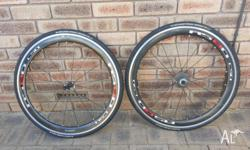 Reduced price, Used carbon wheelset, done approx