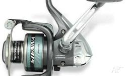 Up for sale is a brand new Shimano Sienna 4000FD reel.