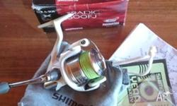 Shimano Stradic 2500 FJ used twice Loaded with 15 lb