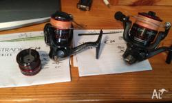 SHIMANO STRADIC CI4 1000 AND 2500 BOTH IN EX CONDITION