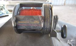 Shimano TLD25 Reel a proven performer in good condition