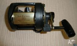 SHIMANO TLD 30, 2 SPEED Good condition 2 speeds: High =