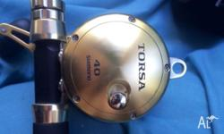 Shimano Torsa 40 overhead reel.This reel is new but has