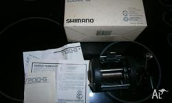 Shimano Fishing Reel TR200G Poor hubby does not get out
