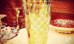 Magnificent Shiny Golden Glass (Made of Brass) A