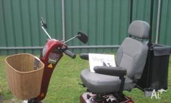 SHOPRIDER 888E PEDESTRIAN SCOOTER FOR SALE IN EXCELLENT