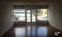 2 shops 240 sqm with large backyard for off street