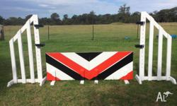 Custom made show jumps and cross country jumps, any