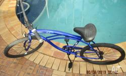 up for sale is my sick as micargi cruiser bike in good