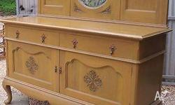 antique sideboard very nice also has a cutlery draw