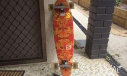 Selling my 2 months old longboard in great condition.