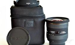 Excellent wide-angle DX lens in perfect condition.