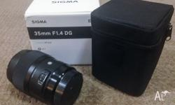 Selling due to change of system. This lens was the