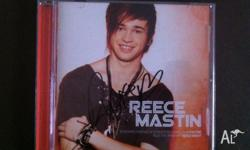 I am selling a signed Reece Mastin CD Used condition