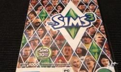 Sims PC game brand new unopened still in plastic