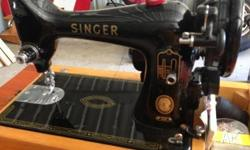 Mint Condition Antique Singer Sewing Machine 450ono