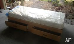 Innerspring single mattress. As new condition. Paid