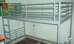 Bunk bed good condition dimensions 97cm wide x 160 tall