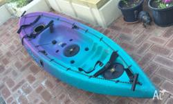 This a sit-in kayak, bought a few years back but has