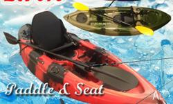 Single Sit on Fishing kayak 2.7M with paddle and seat