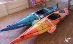 We are selling our 2 sit in kayaks. They are in good