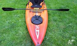 A sit-on-top kayak that you can stand up and paddle!
