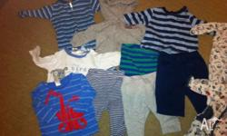 Size 000 baby boys clothing, all in excellent