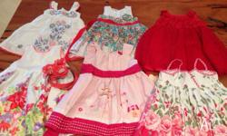 Size 0 girls dresses in excellent/as new condition