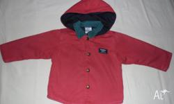 Osh Kosh Jacket $7 Pumpkin Patch Pink / Red floral