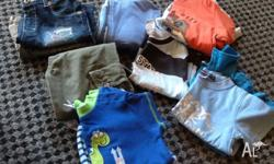 11 items for $10.00. 2x shorts, 2x tees, 1x long sleeve