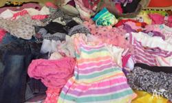 Hi all I have a massive bundle of little girls clothes